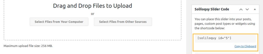 add Call to Action Button under Slider in WordPress