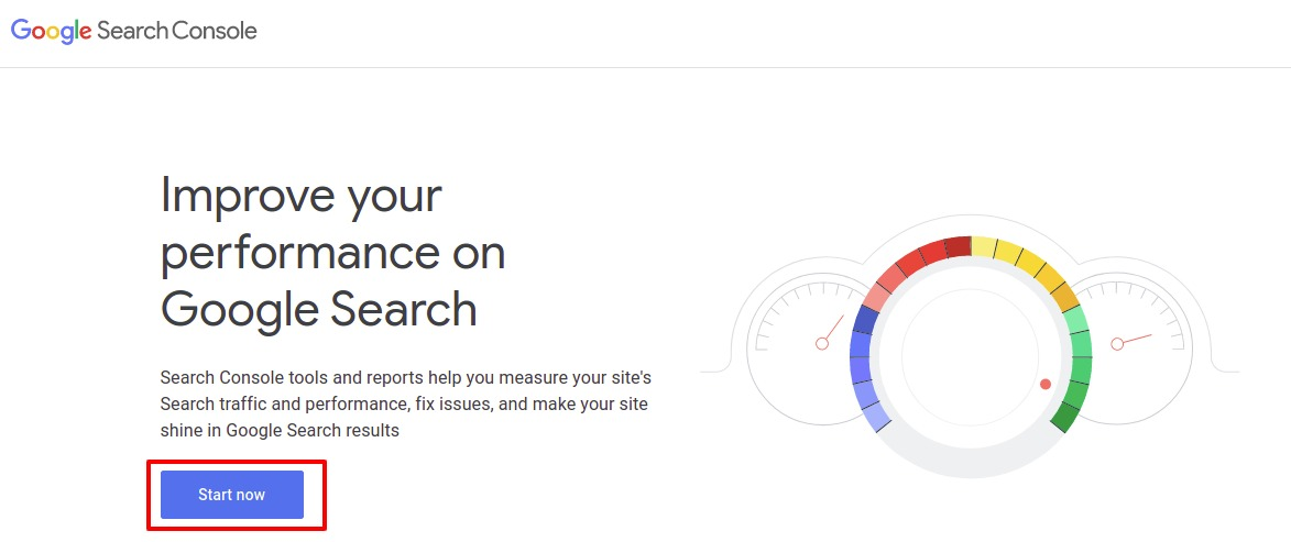 submit website to Google search console