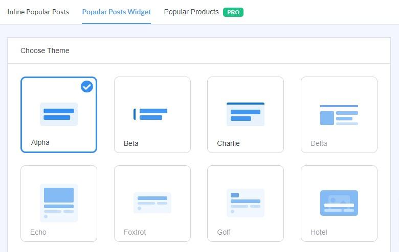 display popular posts in WordPress