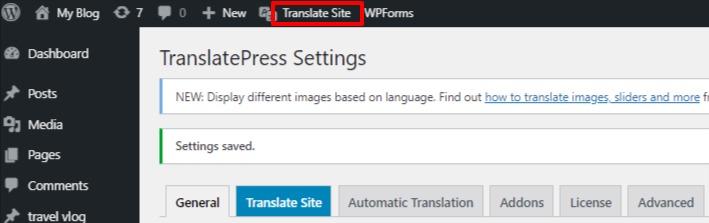 translate a WooCommerce store