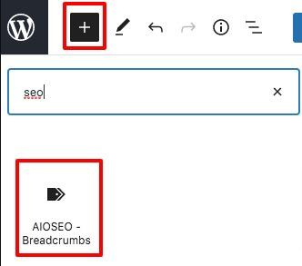 breadcrumb navigation links in WordPress