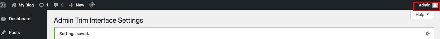 change or remove 'Howdy Admin' in WordPress