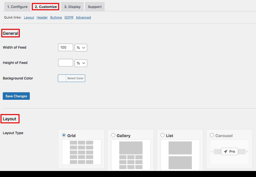 display YouTube channel in WordPress